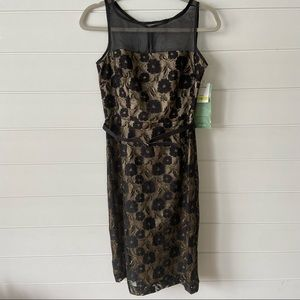 NWT J.Taylor Sleeveless Dress size 4